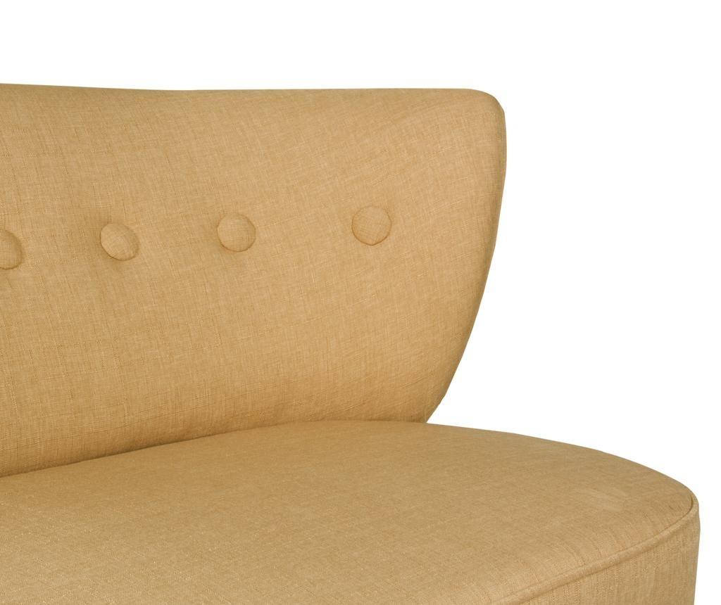 Canapea 2 locuri Josephine Light Brown