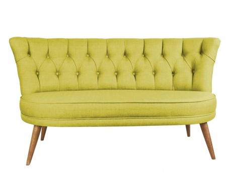 Sophia Pistachio Green Kétszemélyes kanapé