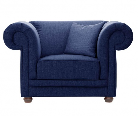 Fotelja Aubusson Navy Blue
