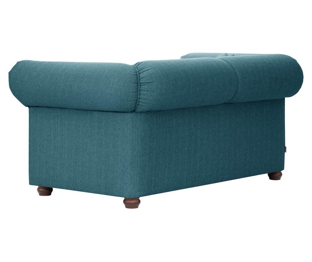 Canapea 2 locuri Aubusson Turquoise