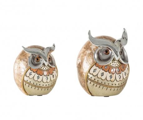 Sada 2 dekorácií Owlies