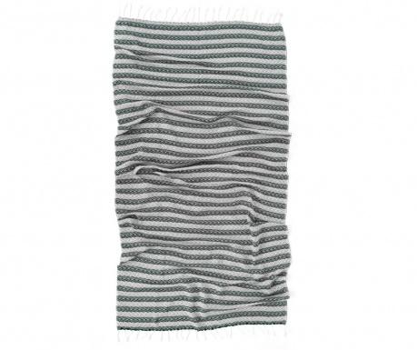 Lines Grey Pestemal fürdőszobai törölköző 90x170 cm