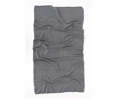 Kupaonski ručnik Pestemal Silyah Grey 90x170 cm