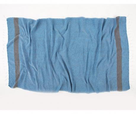 Кърпа за баня Pestemal Teos Blue 90x170 см