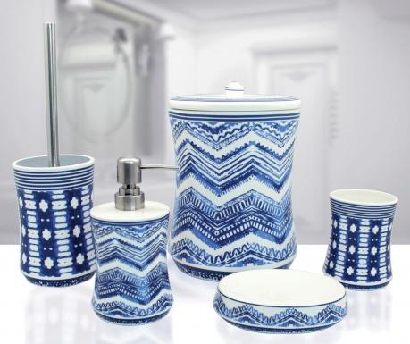 Комплект за баня 5 части Leron Blue