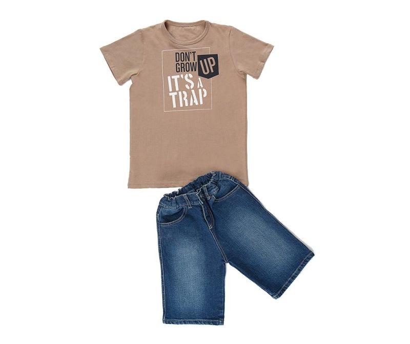 Set tricou si pantaloni pentru copii Trap 8 ani