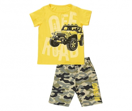 Sada tričko a kalhoty pro děti Off Road 4 r.