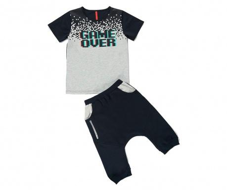 Sada tričko a nohavice pre deti Game Over