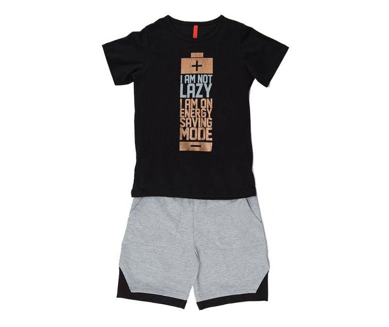 Otroški komplet - majica s kratkimi rokavi in hlače Saving Mode 6 let