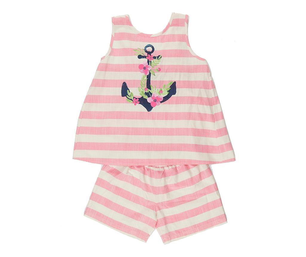 Otroški komplet - majica brez rokavov in hlače Anchor 3 let