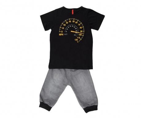 Otroški komplet - majica s kratkimi rokavi in hlače Faster 5 let