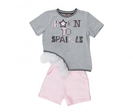 Sada tričko a nohavice pre deti Sparkle