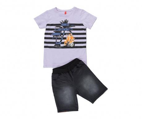 Sada tričko a kalhoty pro děti Palm and Moto 9 r.