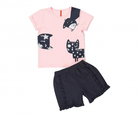 Sada tričko a nohavice pre deti Cats