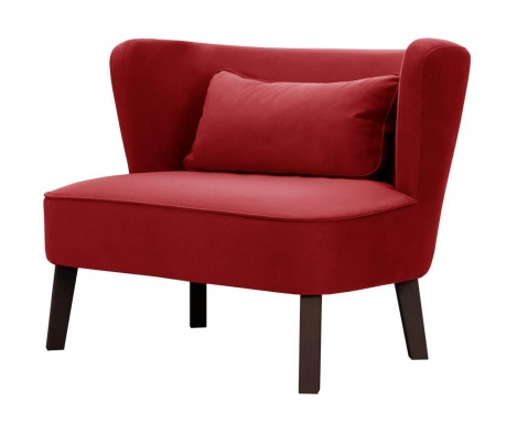 Kauč dvosjed Organza Red