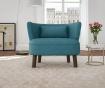 Canapea 2 locuri Organza Turquoise