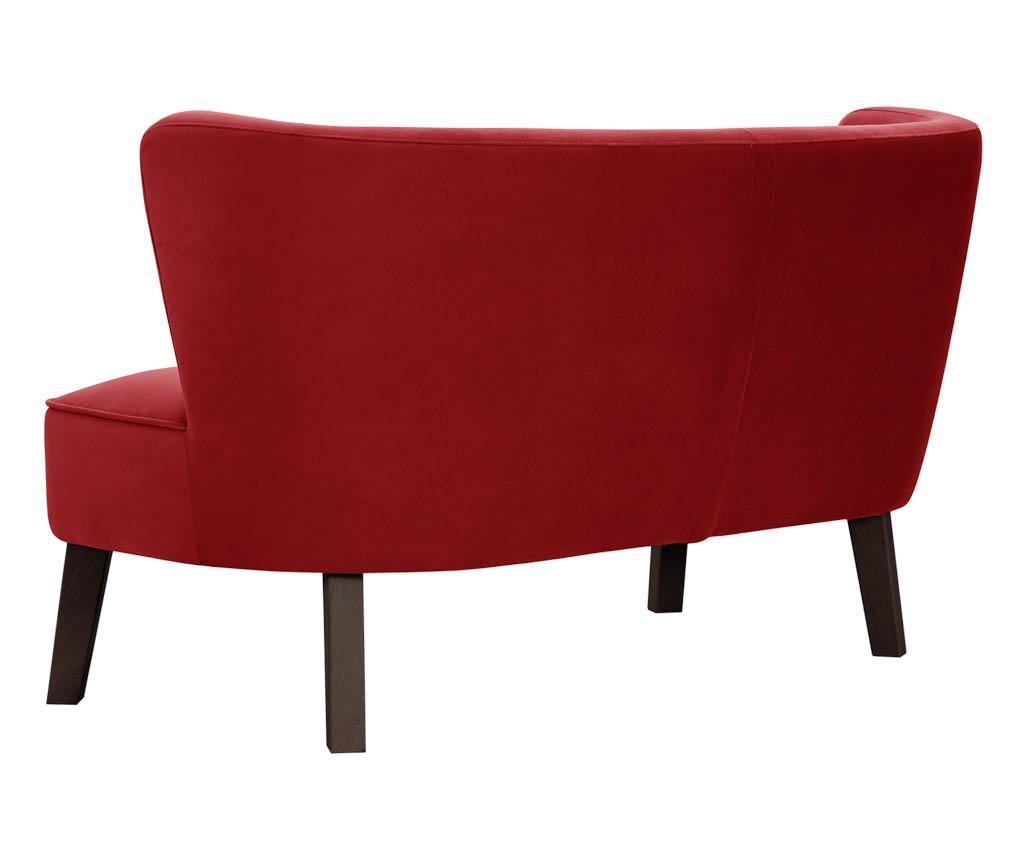 Canapea 3 locuri Organza Red