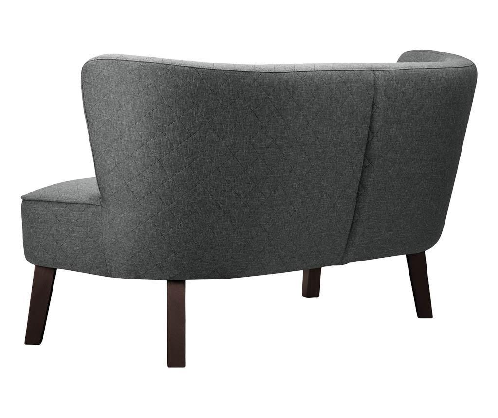 Canapea 3 locuri Percale Grey