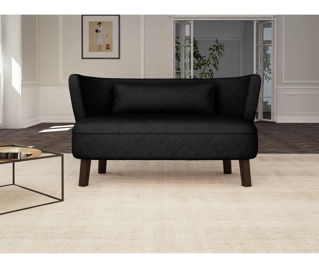 Canapea 3 locuri Percale Black