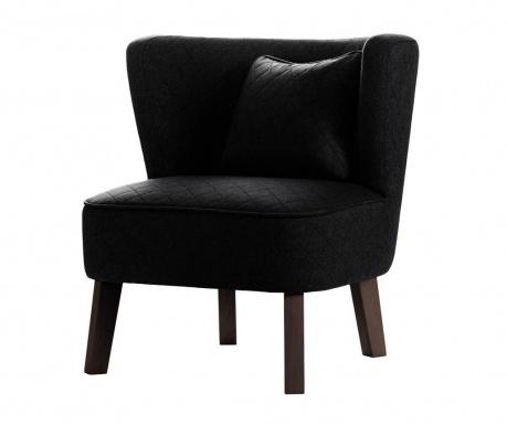 Fotelja Percale Black