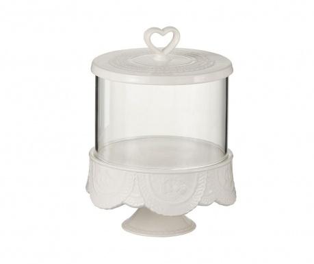 Posuda s poklopcem Ceramic White