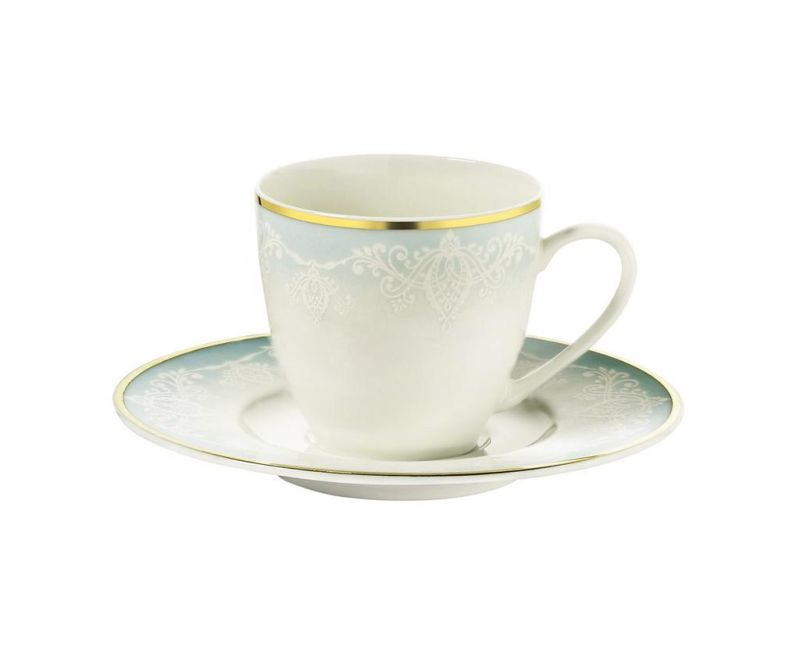 Сервиз 6 чашки и 6 чинийки Coffee Kelsey