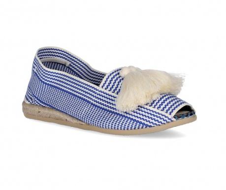 Dámské sandály Frill Blue Navy