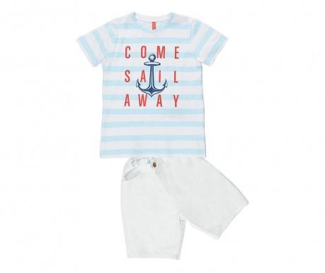 Sada tričko a nohavice pre deti Sail