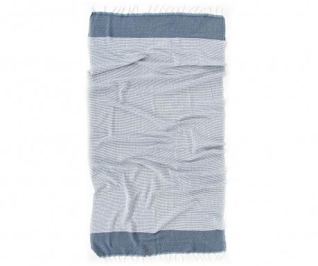 Peshtemal kopalna brisača Mia Blue 90x170 cm