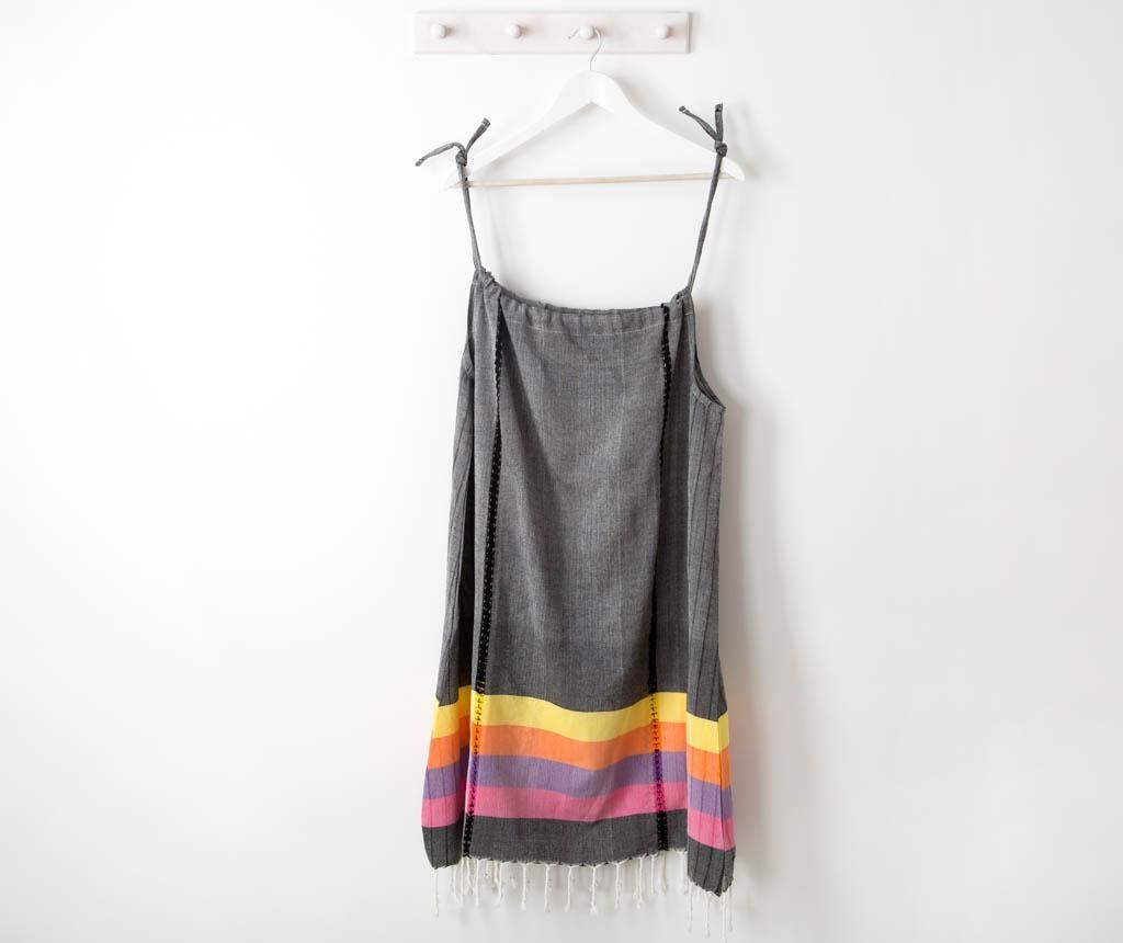 Dámské plážové šaty New Meltem Sleeveless Black