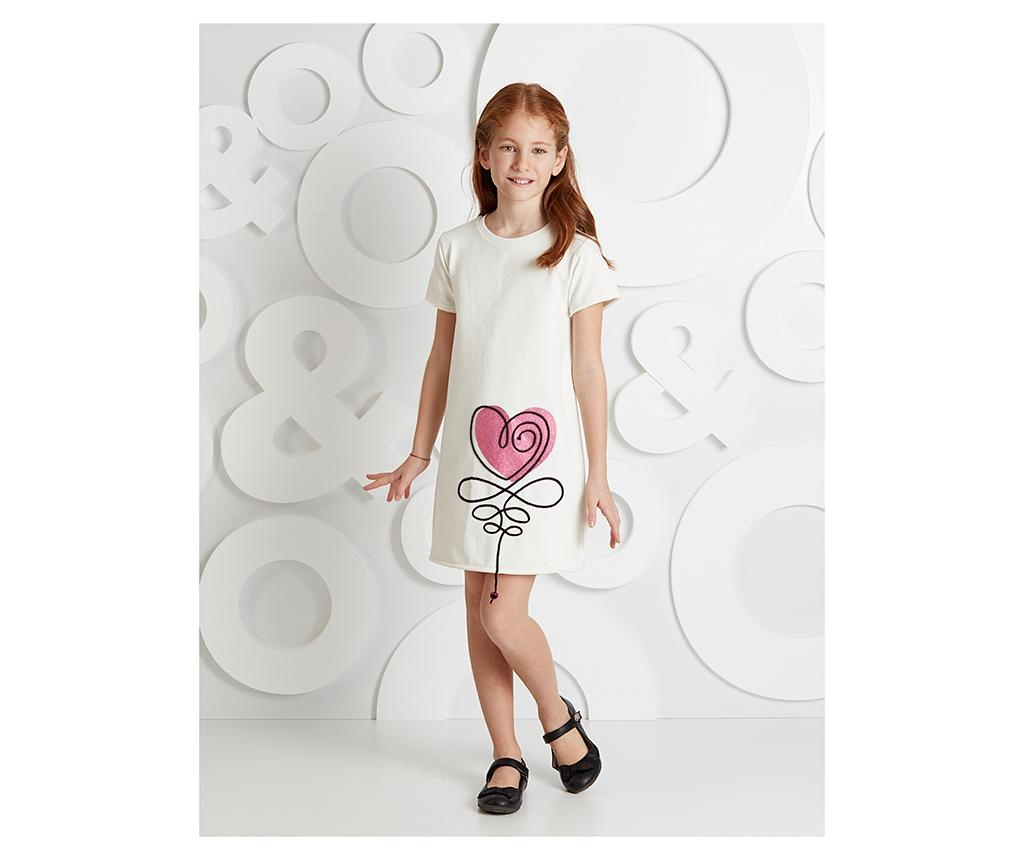 Otroška obleka Heart 8 let