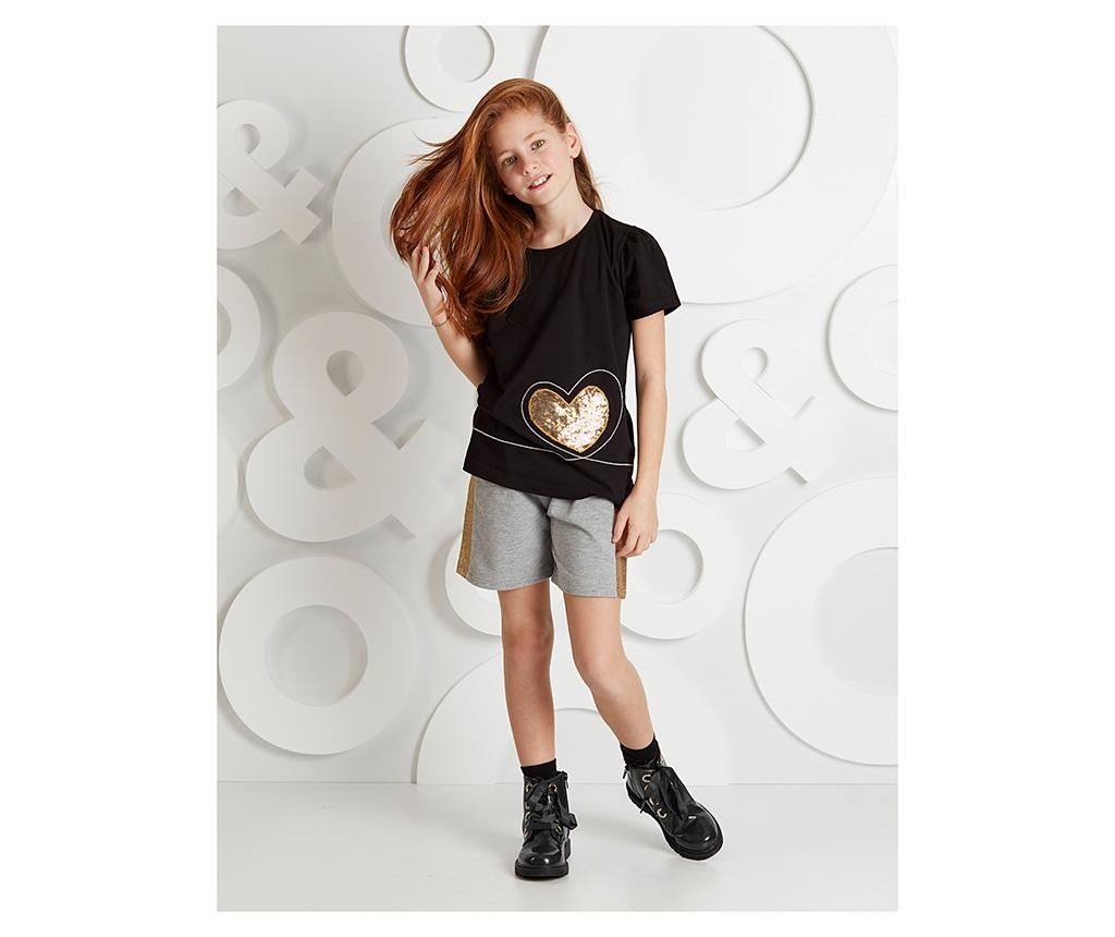 Otroški komplet - majica s kratkimi rokavi in hlače Golden Heart 4 let