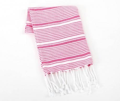 Kopalniška brisača Tilsim Pink 45x90 cm