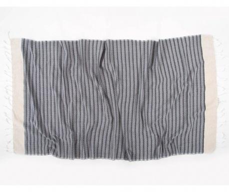 Peshtemal kopalna brisača Side Smokey 90x170 cm