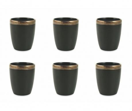 Sada 6 pohárov na vodu Naima Gold