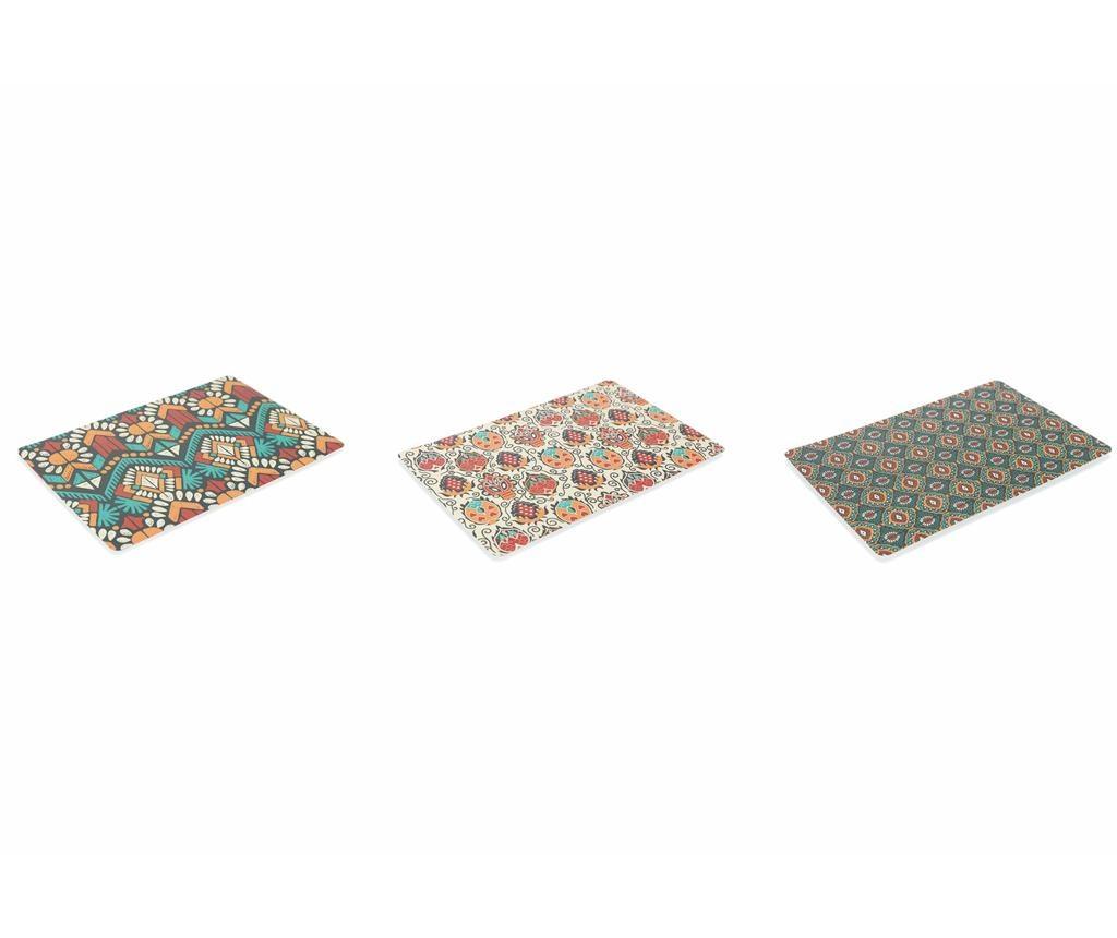 Set 6 suporturi farfurii Mon Afrique 30x45 cm