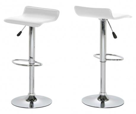 Sada 2 barových židlí Dan White
