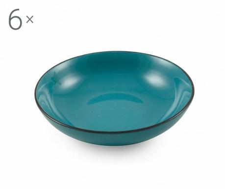 Set 6 zdjela Baita Turquoise
