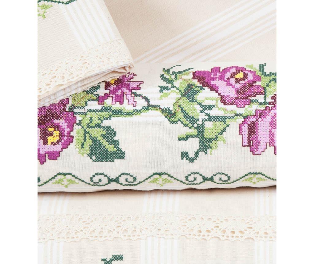 Lenjerie de pat Double Cross Stitch Lilac