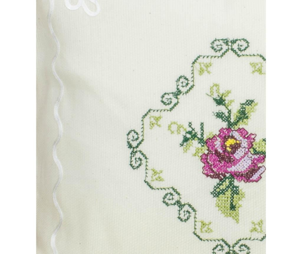 Fata de perna Cross Stitch Lilac 40x40 cm