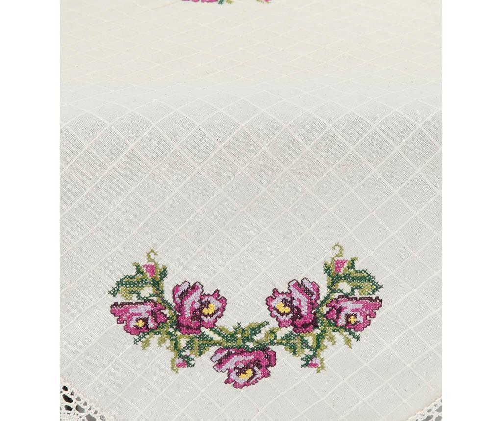 Fata de masa Cross Stitch Lilac 100x100 cm