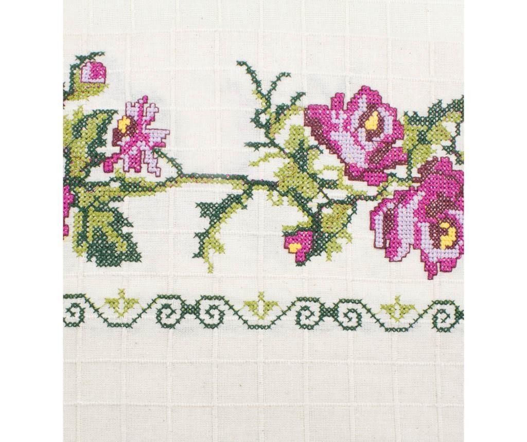 Draperie Cross Stitch Lilac 150x185 cm