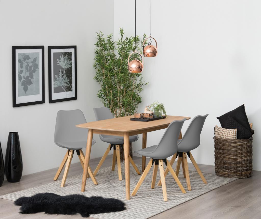 Set 2 stolice Dima Style Grey