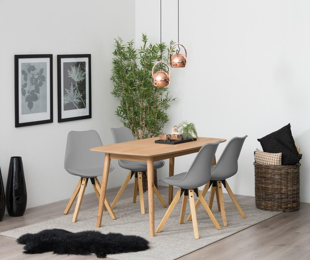 Set 2 scaune Dima Style Grey