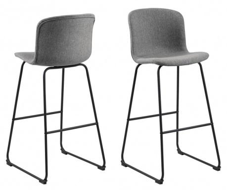 Sada 2 barových židlí Story Green