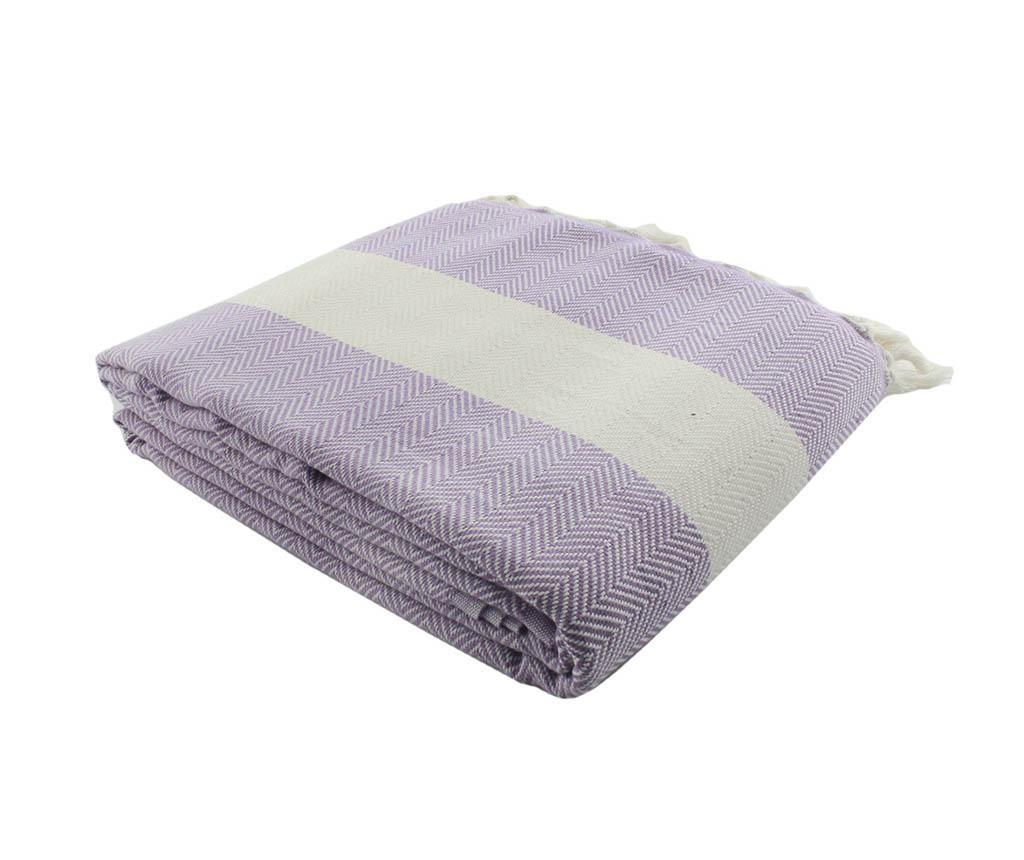 Prekrivač Herringbone Lilac 200x240 cm