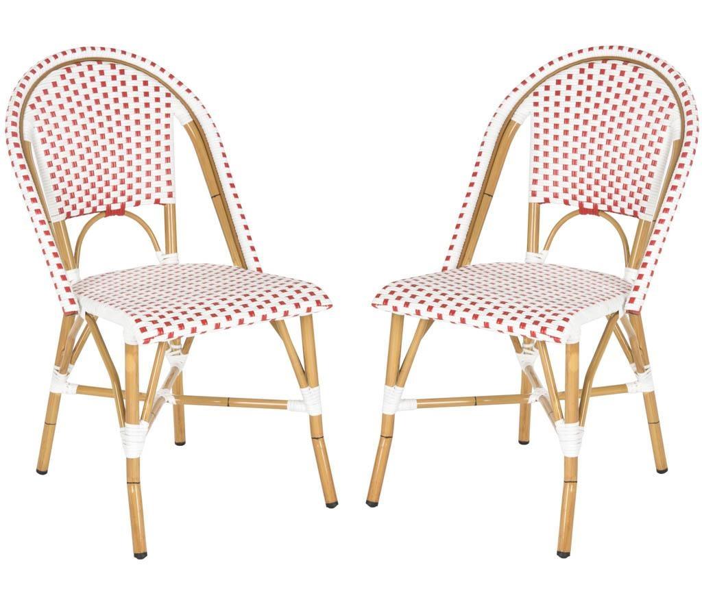 Set 2 stolice za vanjski prostor Adalene Reds