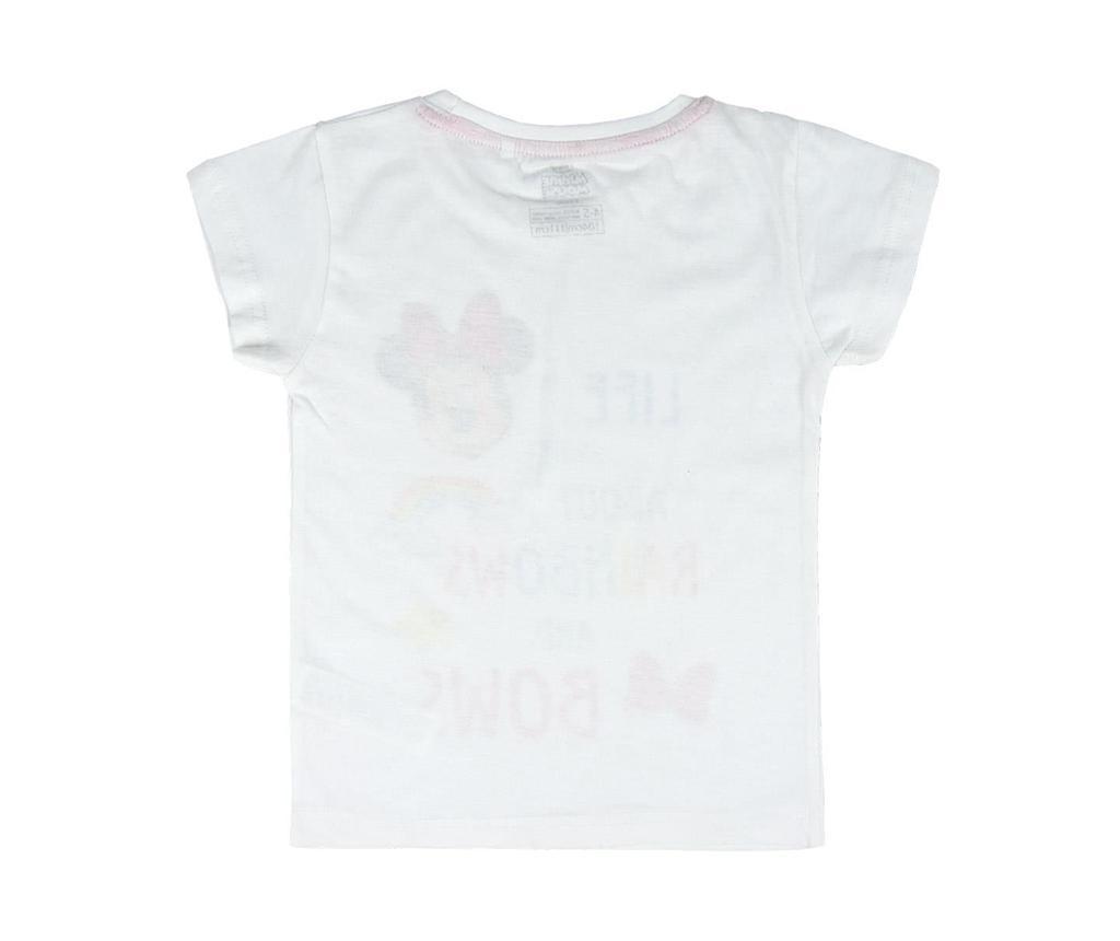 Otroški komplet - kratke hlače in majica s kratkimi rokavi Minnie Rainbow & Bows 3 let