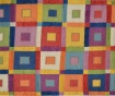 Covor tip pres Geometric Pattern Squares 120x180 cm