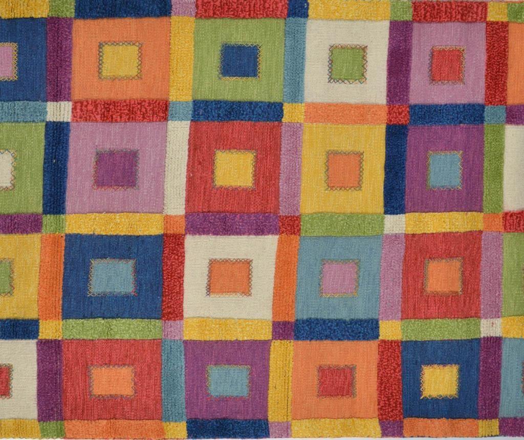 Covor Geometric Pattern Squares 120x180 cm